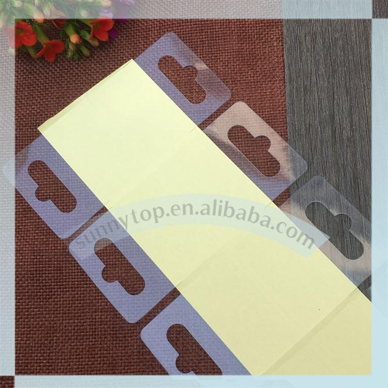 Quality PVC hang tab with Eurohole 1