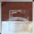 Quality PVC hang tab with Eurohole 2