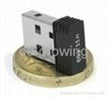 Nano 150mbps USB Wireless Dongle adapter mini wifi network card  2