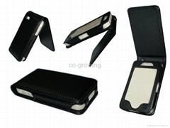 iphone 4(4g) iphone 5 5C 5S  PU Flip case leather case