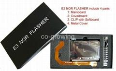 E3 Flasher E3 Nor Flash