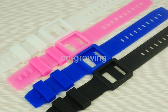 iPod Nano 6 Silicon silicone Watch Band wrist strap case 2