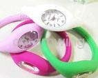 Silicone slap snap Candy jelly watch silicon sport toy watches LED watch 3