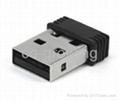 Nano 150mbps USB Wireless Dongle adapter mini wifi network card  3