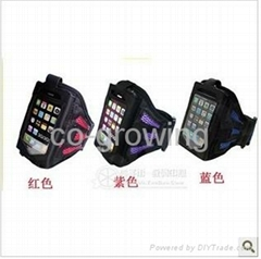 Colorful Ventilated Sports Workout Gym Armband Case for iPhone 5 5G 5C 5S