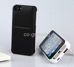 3200mAh External Backup Battery Case Charge Case for IPhone 5C 5S 5 5G