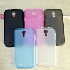 matte Soft TPU Gel protective case cover for Samsung Galaxy S4(I9500)