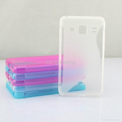 Popular style- S line TPU Gel Protective case cover for Samsung Galaxy S4(I9500)