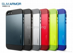 SGP Spigen Ultra slim tough armor cases NEO Hydrid EX cases for iphone 5 5s 5c 4