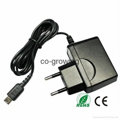 Power Supply AC Adapter Wall Travel Charger Chargers For Nintendo NDS Lite NDSL