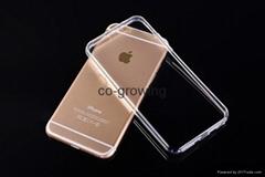 Super slim 0.3mm Clear TPU Skin Transparent Soft Back Case Cover for iPhone 6