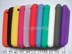 silicon skin protector case for Apple iphone 3g/3gs iphone 4、4s iphone 5 5S 5C