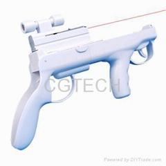 Wii laser light gun, Acc