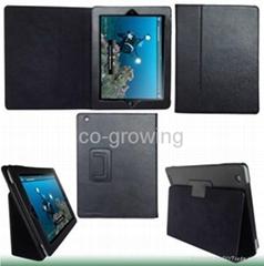 IPADAIR IPAD5/ IPAD 4/ iPAD3 /ipad2 /ipad leather case protective cover holder