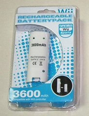 wii Rechargeable battery