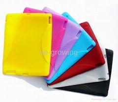 apple ipad2 ipad 2 ipad 3 ipad 4 silicon silicone skin protector case cover