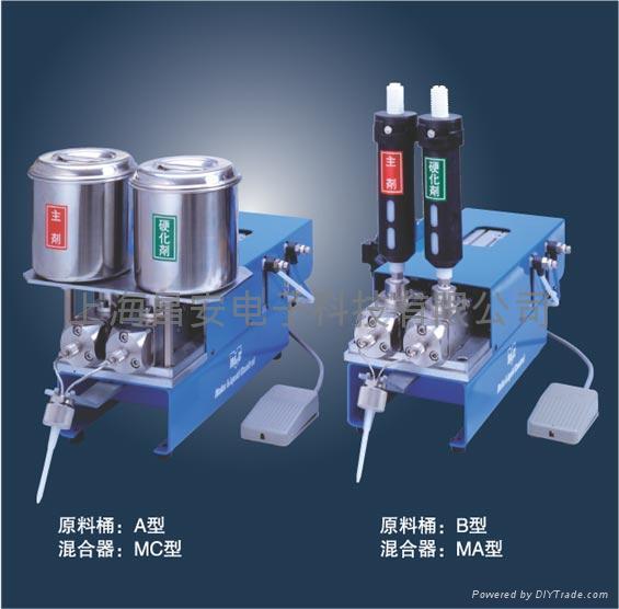 微型双液点胶机 2