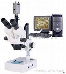 三目视频显微镜