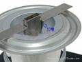 Tin stove fixture