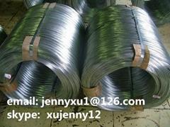 Big coil ga  anized wire