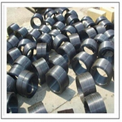 black or ga  anized or PVC coated wire in box