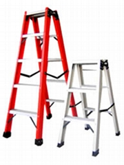 Fiberglass ladder and FRP ladder