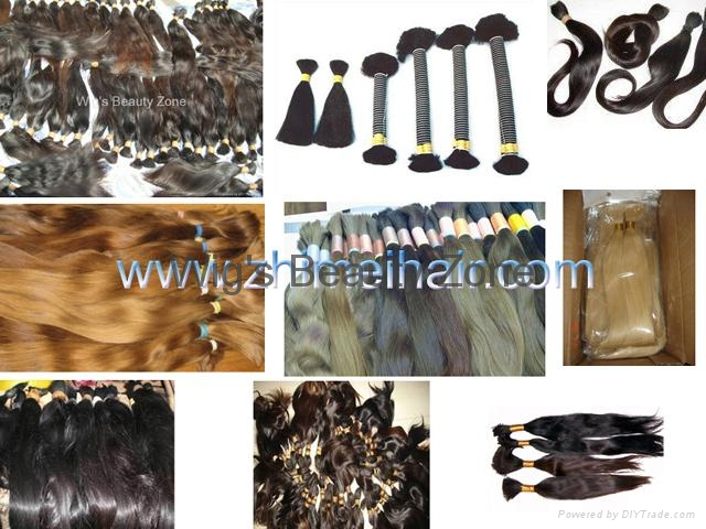 Raw remy hair material 1