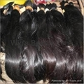 Raw remy hair material
