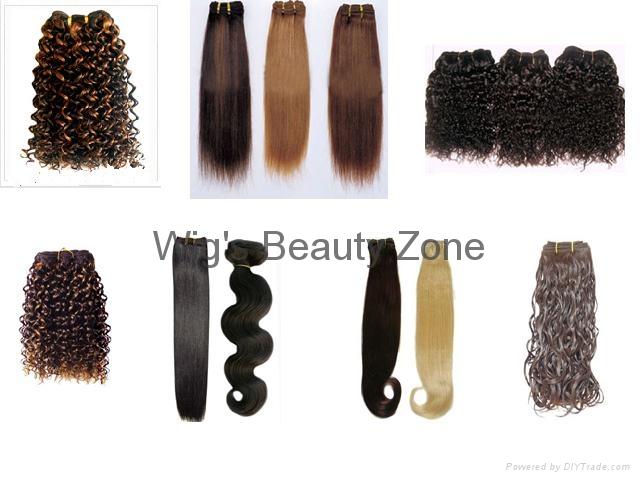 Human hair weaving&wefts 1