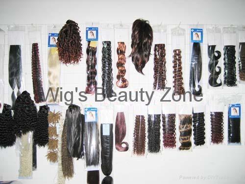Human hair weaving&wefts 3