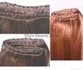 Human hair weaving&wefts 4