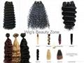Human hair weaving&wefts