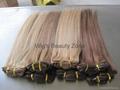 Silky straight human hair weaving