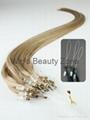 sell micro ring hair weaving 3
