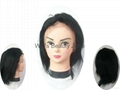Human hair full lace wigs in stock cheap price