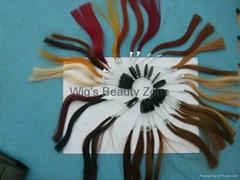 Human hair color rong