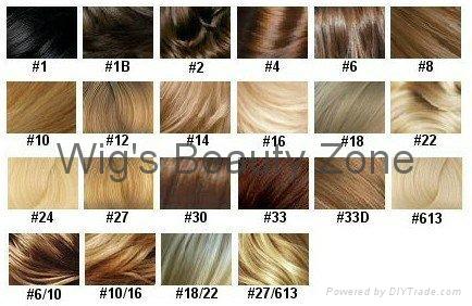 Human hair color rong 4