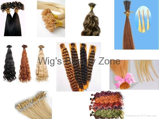 pre-tipped hair extesnions