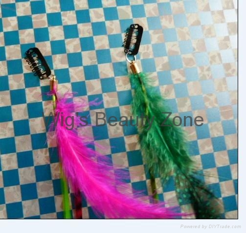 New Feather Hair extensions 2