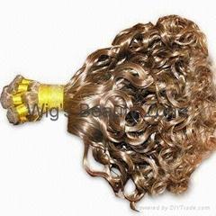 Hand made human hair weaving