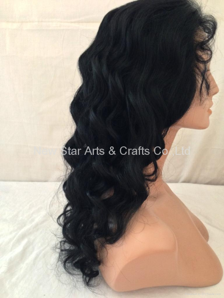 Full Lace Remy Human Hair Wig 2