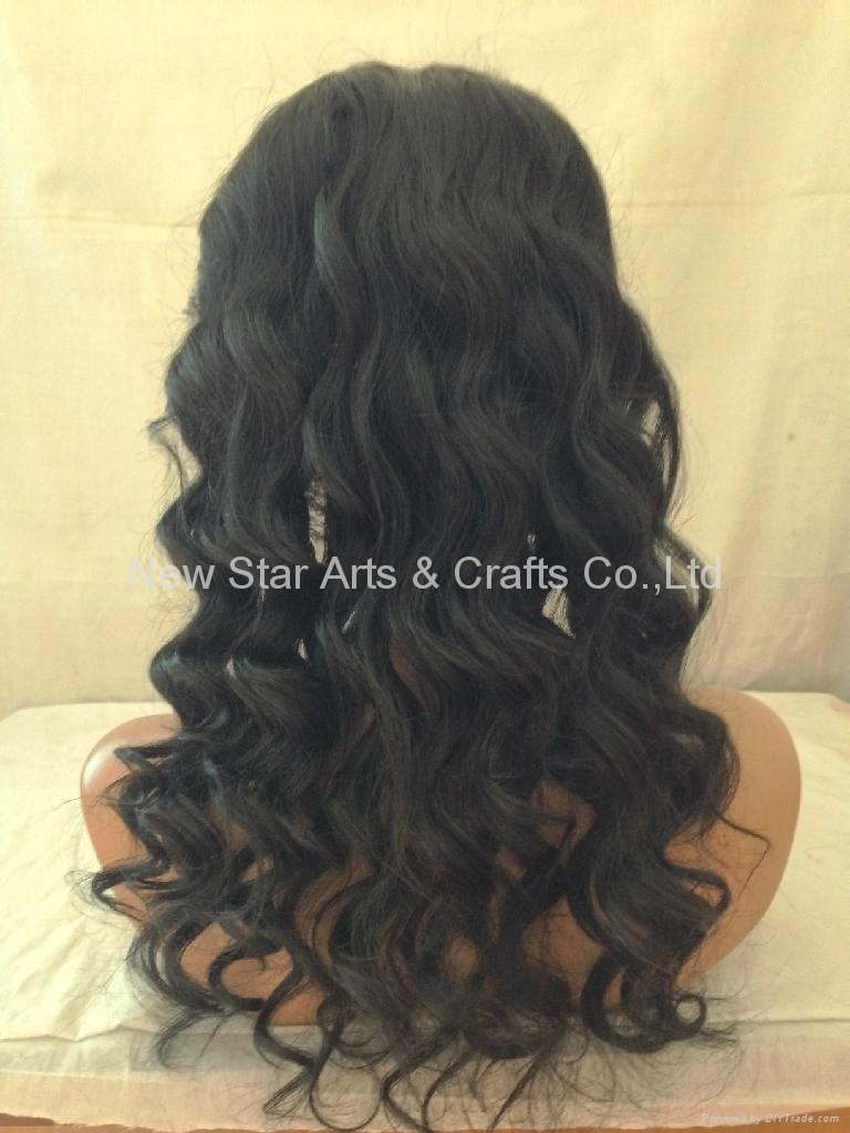 Full Lace Remy Human Hair Wig 3