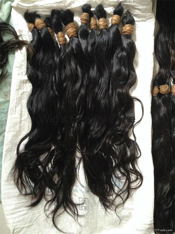Raw Human Hair 7