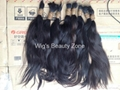 New Single Drawn Remy hair material 4