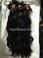 New Single Drawn Remy hair material 5
