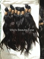 New Single Drawn Remy hair material 6