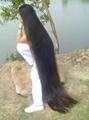 2015 Hot Sale Single Drawn Remy Hair Bulk 70cm 3