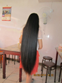 2015 Hot Sale Single Drawn Remy Hair Bulk 70cm