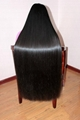 2015 Hot Sale Single Drawn Remy Hair Bulk 70cm 2