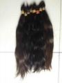 2015 Hot Sale Single Drawn Remy Hair Bulk 70cm 9